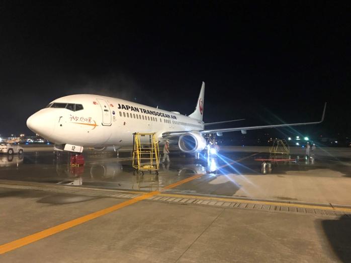 JTAの飛行機 B-737-800