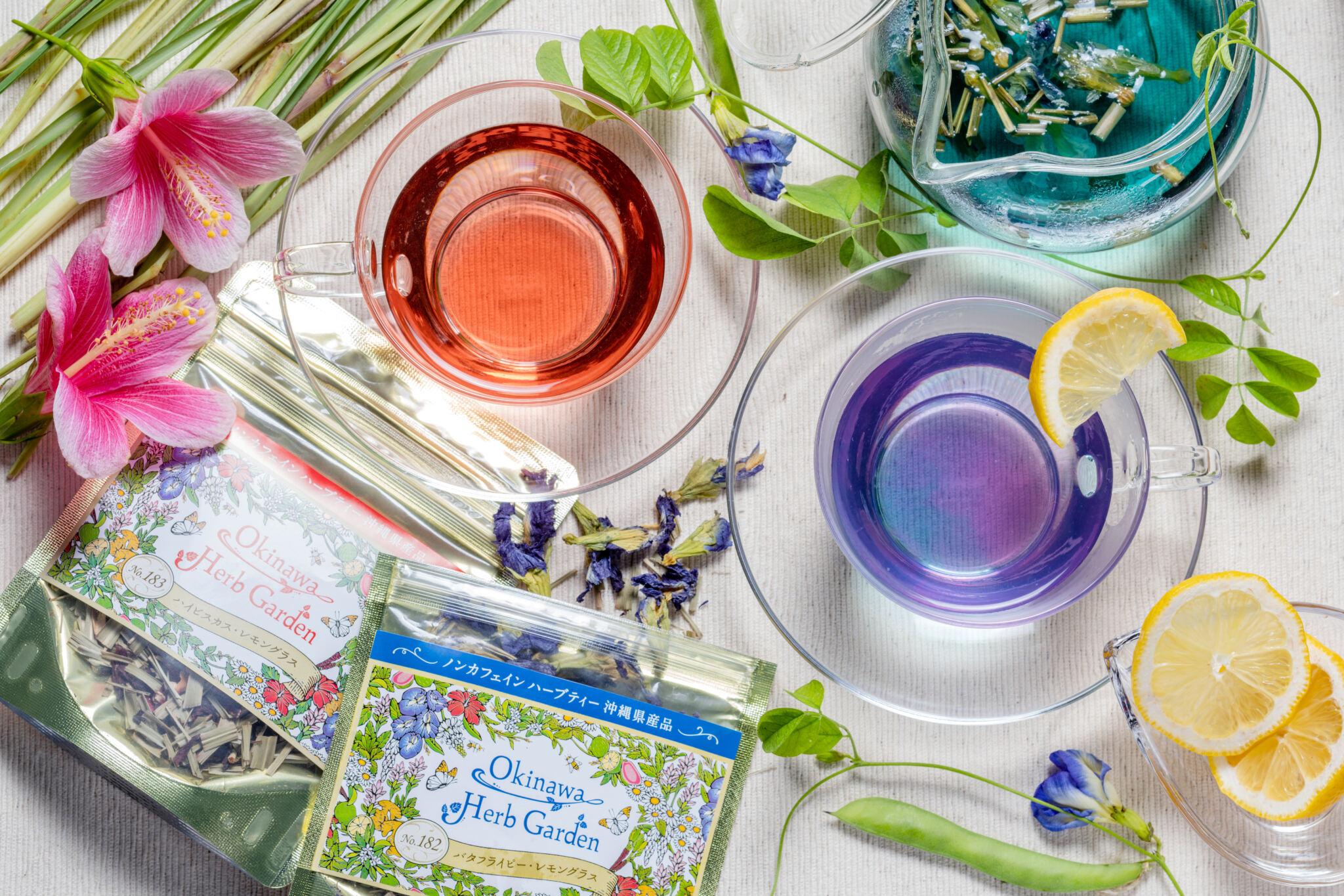 沖縄の自然に育まれた天然の色、段違いの香り。お土産にも、おうち時間の充実にも、ぜひ!