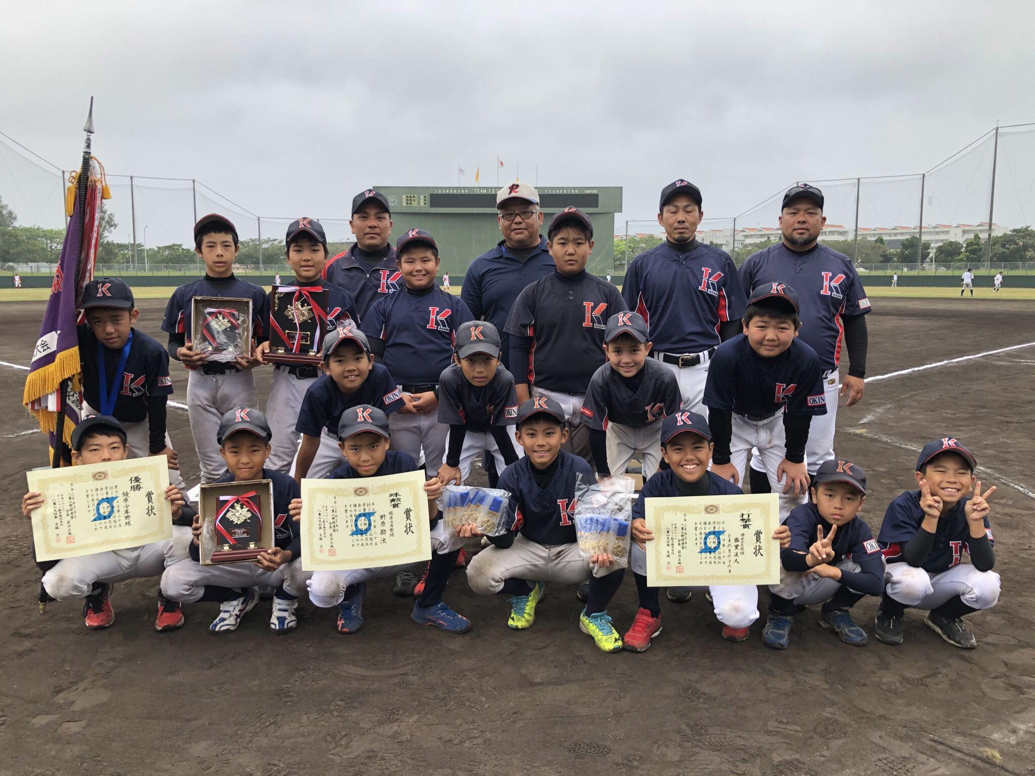 第25回JTA旗先島地区学童軟式野球交流大会開催