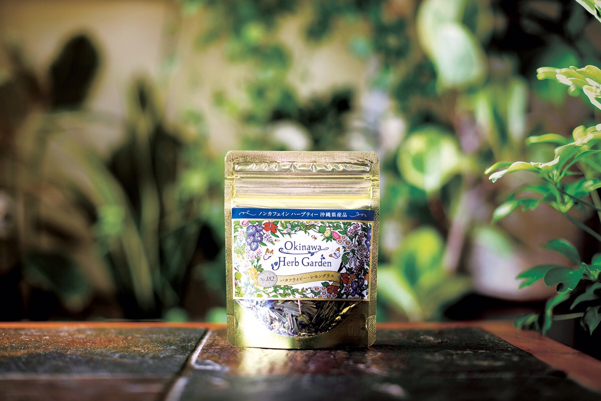 Okinawa Herb Gardenノンカフェインハーブティー No.182[バタフライピー・レモングラス]